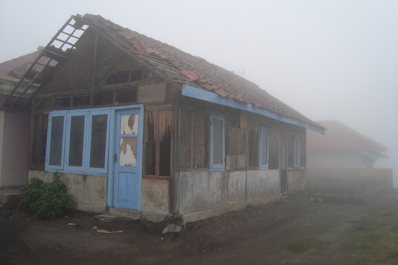 old house in the Cemara village